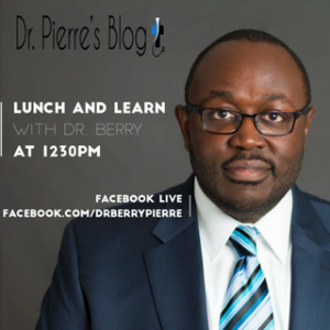 Lunch and Learn, Dr. berry, DrpierresBlog.com,flu