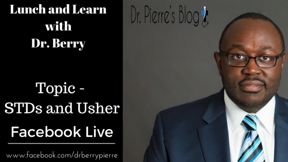 Sexually Transmitted Diseases, Usher, STDs, lunch and learn