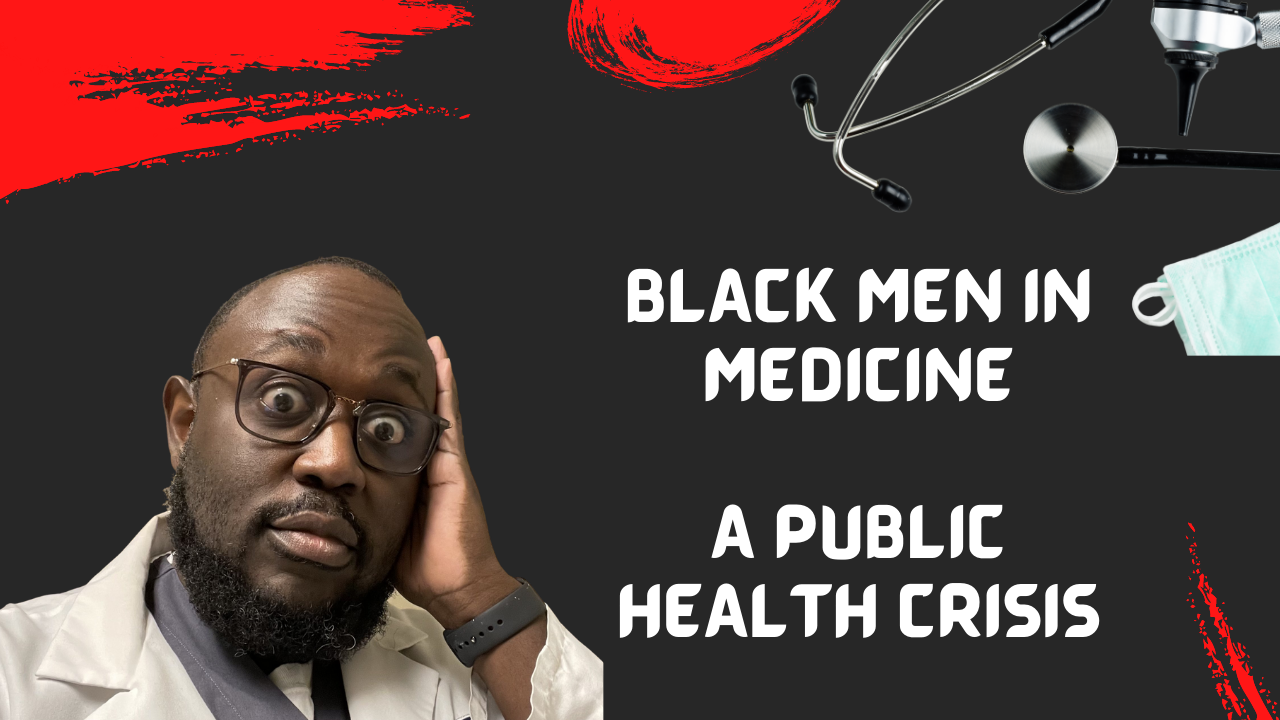 black men in medicine, black men in white coats